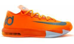 Nike KD VI Creamsicle Total Orange Armory Slate