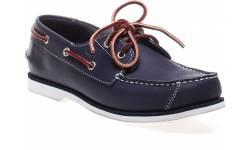 Timberland Youth 2-Eye Boat Navy Casual Shoe