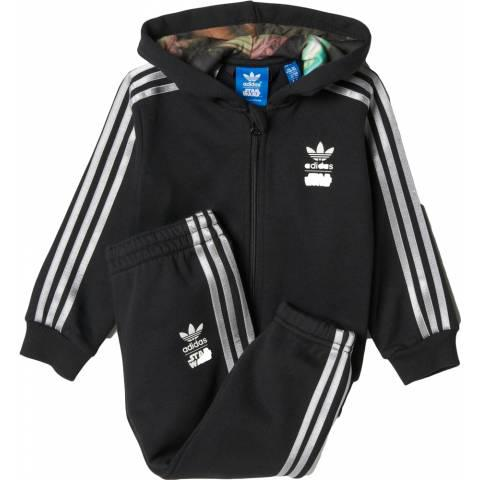 Adidas Infants Star Wars Millennium Falcon Hooded Track Suit