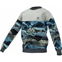Adidas Youth Urban Outdoor Print Fleece Sweatshirt