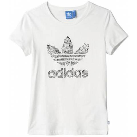 Adidas Floral Trefoil Tee за 1300 руб.