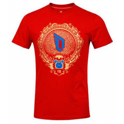 Adidas D Lillard Chinese New Year Tee за 2000 руб.