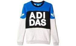 adidas Youth Basketball Crew Sweatshirt