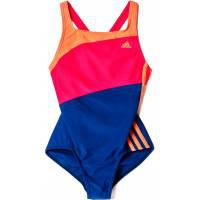 Adidas 3-Stripes Colorblocked Swimsuit