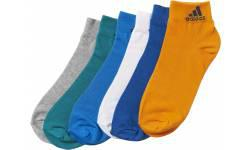 Adidas Thin Ankle Socks 6 Pairs