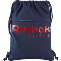 Reebok Classics Foundation Drawstring Backpack Collegiate Navy