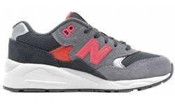New Balance 580 Grey/Pink Girls' Preschool KL580GOP