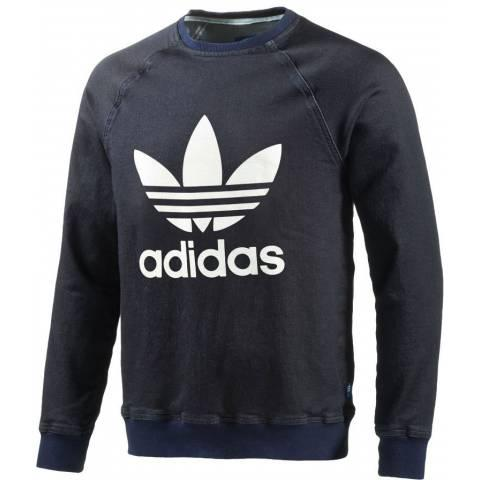 Adidas Denim French Terry Sweatshirt