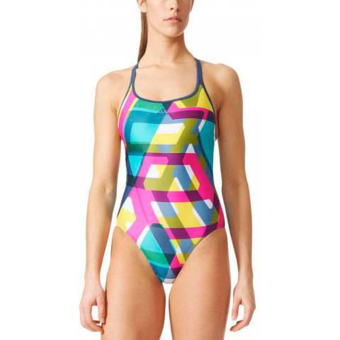 Adidas Allover Print Swimsuit