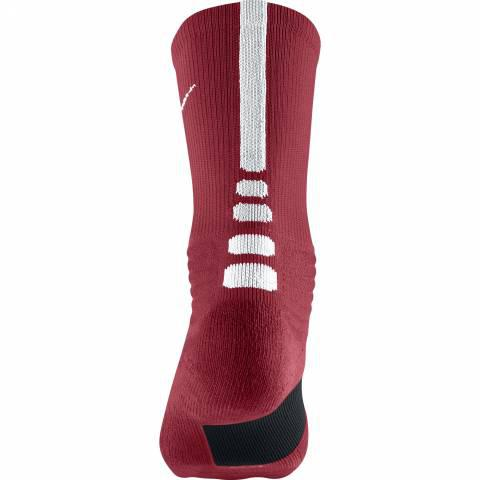 Nike K Hyper Elite Dri-Fit Socks Red, White