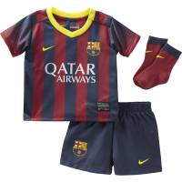 Nike Infant Barcelona Home Kit