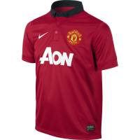 Nike Youth Manchester United Home Jersey