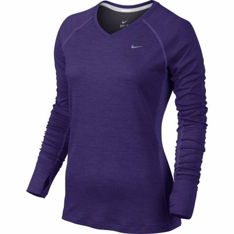 Nike Dri-FIT Wool V-Neck Womens Running Shirt за 2500 руб.