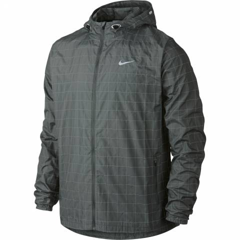 Nike Checkered Flash Mens Running Jacket