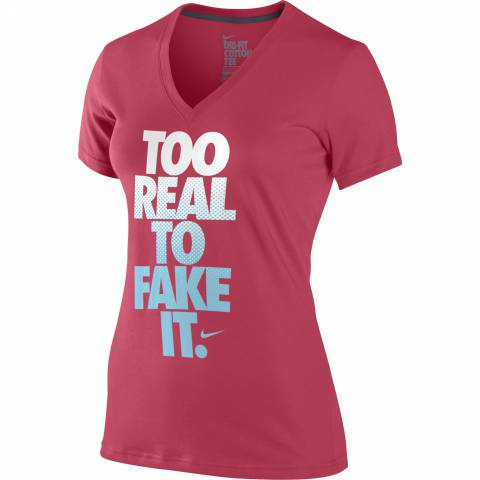Nike Too Real Mid V-Neck T-Shirt за 800 руб.