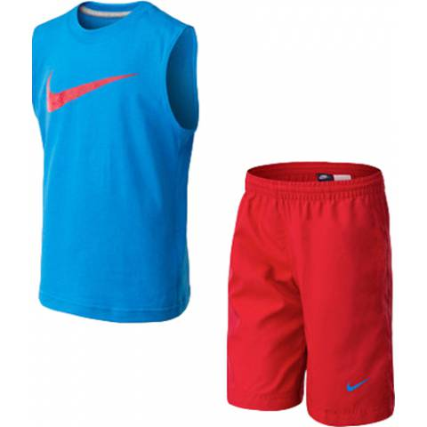 NIKE MIXED SET (SLVLS+SHORT)