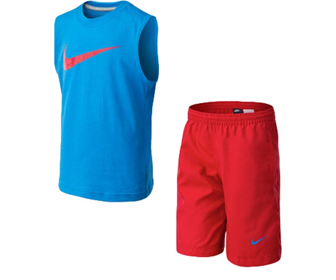 NIKE MIXED SET (SLVLS+SHORT) за 1300 руб.