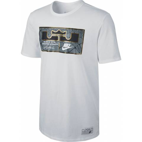 Nike Lebron James Jock Tag Cotton T-Shirt