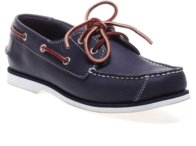Timberland Youth 2-Eye Boat Navy Casual Shoe за 4100 руб.