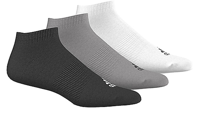 Adidas Performance No-Show Thin Socks 3 Pairs за 600 руб.