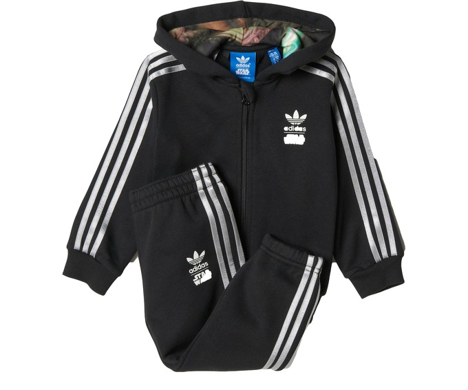 Adidas Infants Star Wars Millennium Falcon Hooded Track Suit за 2200 руб.