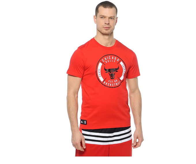 Adidas Playera de Basketball Chicago Bulls  за 1200 руб.