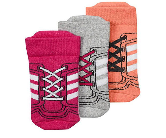Adidas Infants Socks 3 Pairs за 500 руб.