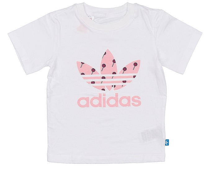 Adidas Infants Basketball Trefoil Jersey за 1000 руб.
