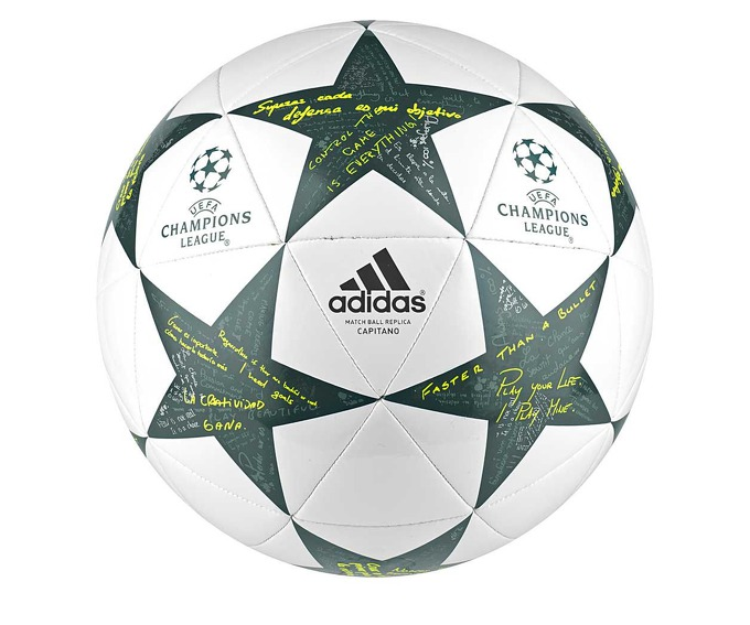 Adidas UCL Finale 16 Capitano Ball за 1200 руб.