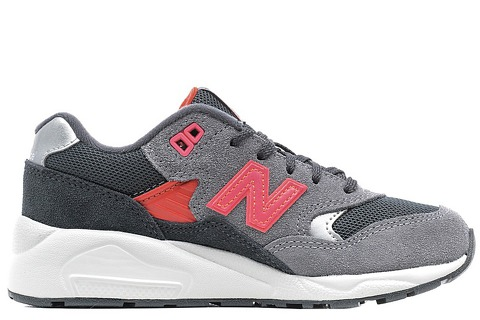 New Balance 580 Grey/Pink Girls Preschool KL580GOP за 4900 руб.